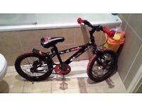 "Kids bike 16"", Excellent Condition (with pump)"