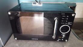 Daewoo KOR6N9RB Digital Microwave, 800 Watt, 20 Litre - Gloss Black