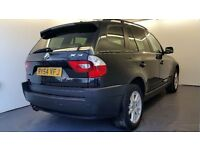 2004 | BMW X3 2.5i SE 5dr |Automatic | Leather |Front and rear sensors | Cruise control