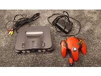 N64 console *Tested & Fully Working*