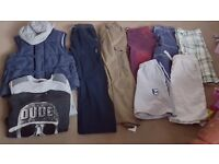 Small bundle of boys clothes aged 11-12 years