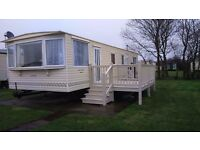 Caravan to hire on Park Resorts Skipsea sands