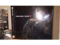 Gears of War 3 Epic Edition BRAND NEW very rare