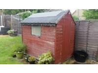 7x5 foot apex shed