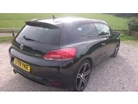 VW SCIROCCO 2009. GT DSG. FULL HISTORY. TOP SPEC MODEL. SAT NAV. AUTO LIGHT'S & WIPER'S ETC.