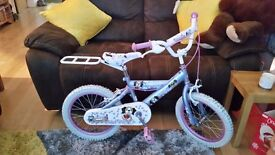 """Childrens 16"""" pedal pets bicycle for (4 - 6 year old)"""