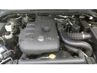 Nissan navara d40 engine only