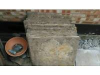 Concrete slabs / paving. Perfect for shed base
