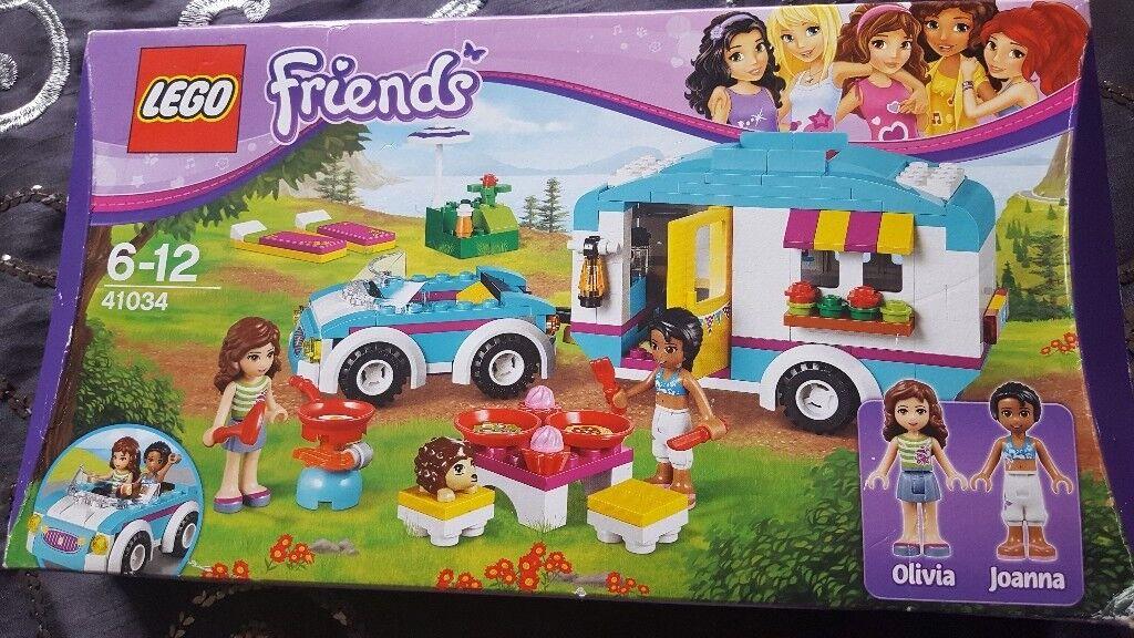 LEGO FRIENDS CARAVAN SET NEW