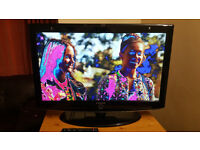 """SAMSUNG LE37R87BD 37"""" 720p HD LCD Television FOR SALE ( PICTURE PROBLEM)"""