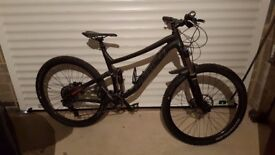 Norco Optic Mountain Bike / Downhill Bike Full Sus and kit.