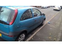 Vauxhall Corsa 12 months mot for sale/ swap why