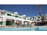 Holiday Apartment Lanzerote, Club Las Calas, Puerto del Carmen Available Christmas Week