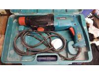 240v Makita Hammer Drill. Good Condition