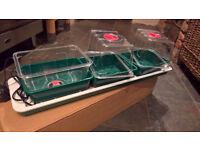 Plant propogators - electric windowsill propogators - unused