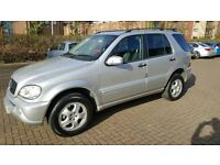 MERCEDES ML 270 CDI AUTO 4X4 FULL S/HISTORY 2 FORMER KEEPERS 2004 FACELIFT
