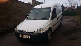 2010 / 10 PLATE Vauxhall Combo 1.3CDTi 16v 1700 Panel Van 1248cc NO VAT NO VAT