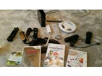 Wii console, 4 controllets + Games £75 o.n.o