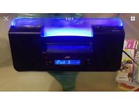 JVC DUAL AUDIO SYSTEM, IPHONE IPOD DOCKING STATION SPEAKER SYSTEM