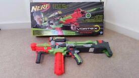 Nerf Vortex Nitron electronic gun blaster, boxed