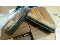 7sqm of reclaimed parquet flooring