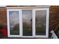 White upc new window frame
