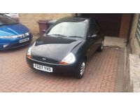 2007 ford ka style in panther black