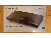Unopened Samsung 4K UHD Blu-Ray Player UBD-M7500 with HDR Technology