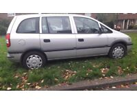 Vauxhall Zafira lots of service hist new cambelt 7 seater