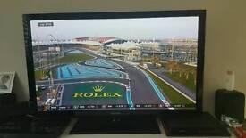"Samsung 50"" flat screen HDTV"