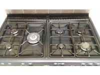 4 Cast iron hob pan stands for belling cooker.