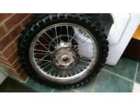 Genuine KTM rear wheel
