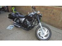 125 motorbike for sale 1500 miles from new 1 owner