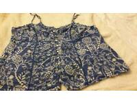 Marks and Spencer summer top . Size 12/14.