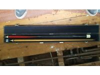 "BCE Pool / Snooker Cue 58"" Complete with Case"