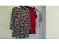 5 Lovely Ladies Tops - Size 24