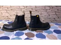 DM safety chelsea boots black size 9