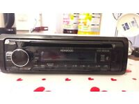 Kenwood CD USB car stereo