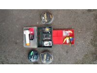 Fishing gear all good condition!all go together 35£Can deliver or post!