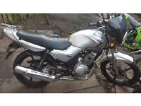 Yamaha ybr 125 learner legal