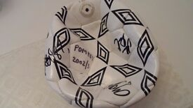 Portsmouth Football Club Signed Ball