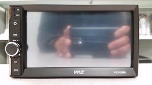Pyle Bluetooth Double Din Car Deck