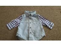 Baby boy 0-3 months shirt