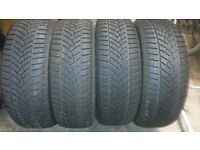 4x Goodyear Winter Tyres 215/60/R16 215 60 16