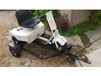 Electric buggy / golf with trailer