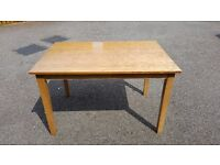 Solid Wood Dining Table 120cm FREE DELIVERY (02548)