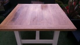 Brand New Solid Oak Dining Table