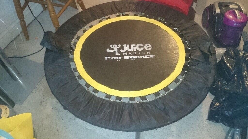 Juice Master's Pro-Bounce Rebounder