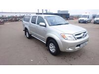 Toyota hilux invincible . Full leather , canopy . Years mot