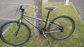 Islabikes Beinn 24, blue, ready to ride.